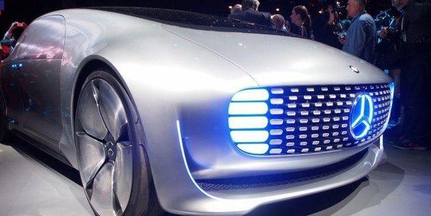 رونمایی دایملر از خودروی برقی