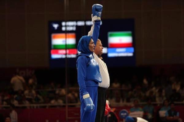 هت تریک بانوان ووشوکار/ الهه منصوریان قهرمان جهان شد