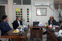 مدیر استانی بانک ایران زمین با رئیس نظام پزشکی استان همدان دیدار کرد