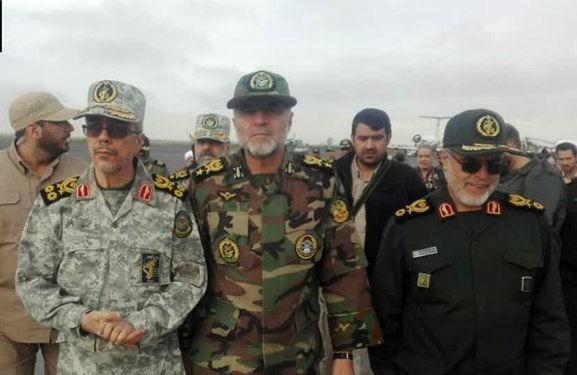 سرلشکر محمد باقری به همراه برخی از فرماندهان ارشد وارد گلستان شدند