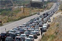 ترافیک سنگین در محورهای هراز و کندوان/ مسافران بازگشت سفر را به شب موکول نکنند