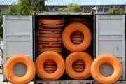 کشف 74  حلقه لاستیک  خارجی قاچاق در اصفهان