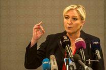 انتقاد لوپن از بانکهای فرانسه