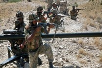 عملیات ویژه ارتش پاکستان در امتداد خط مرزی با افغانستان