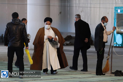نماز جمعه اصفهان بعد از یک سال تعطیلی بدلیل شیوع کرونا