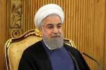 روحانی فرا رسیدن سال 1396 را به رهبر معظم انقلاب تبریک گفت