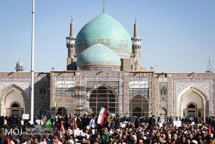 بزرگداشت ۹ دی در مشهد مقدس