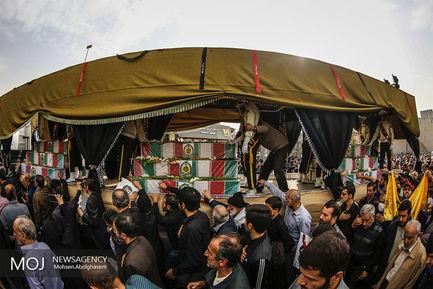 مراسم+تشییع+پیکر+54+شهید+دفاع+مقدس+نیروی+انتظامی
