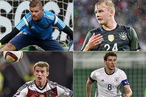 لیست نهایی تیم فوتبال المپیک آلمان اعلام شد