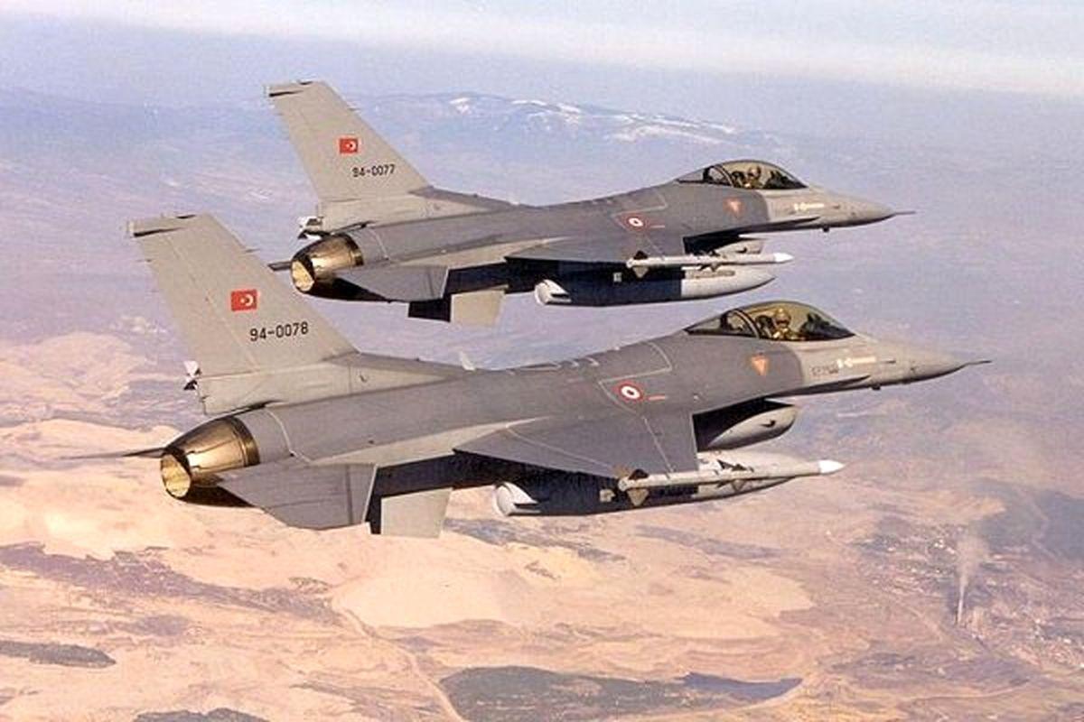 تقابل جنگندههای یونان با جتهای «اف-16» ترکیه