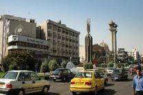 ترافیک قلب تهران در شرایط عادی قرار دارد