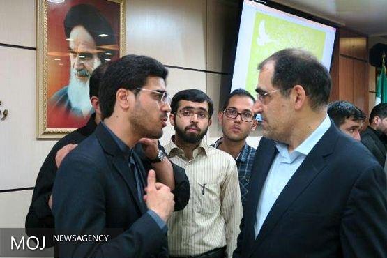 نمایندگان تشکل های دانشجویی با وزیر بهداشت دیدار کردند