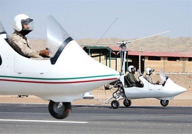 کنترل مسیرهای ارتباطی استان گیلان با گشت هوایی