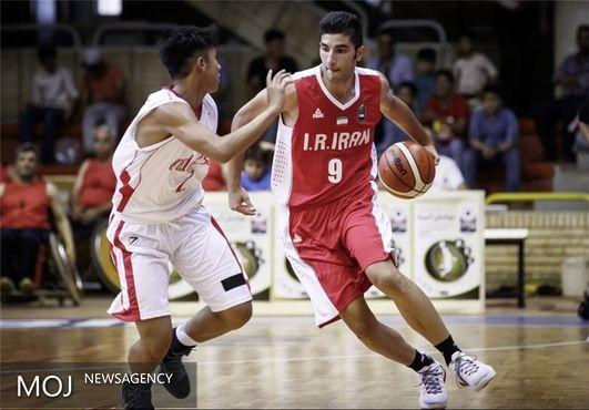 اولین پیروزی بسکتبالیستهای ایران + عکس