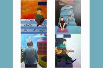 افتتاح نمایشگاه نقاشی گروهی نوجوانان زیر نظر روناک ربیعی