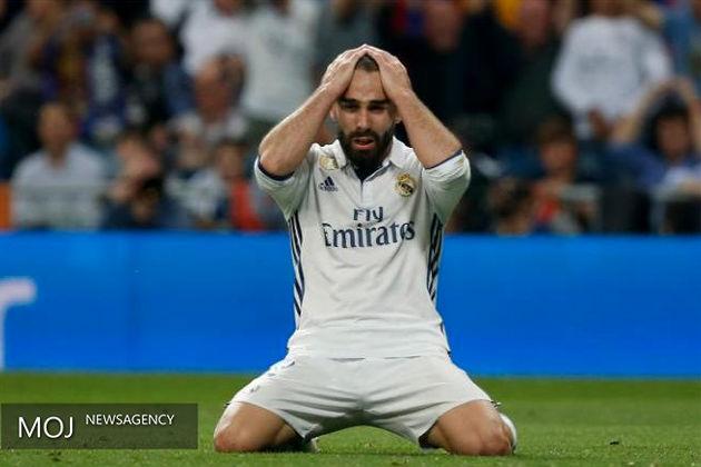 رئال مادرید برابر والنسیا متوقف شد
