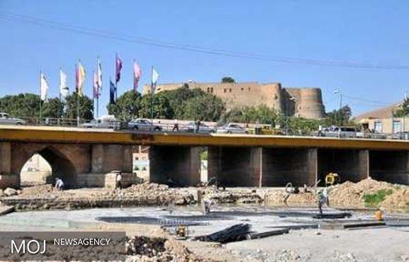 عملیات مرمت پل گپ خرم آباد آغاز شد