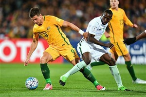 پیروزی استرالیا مقابل عربستان