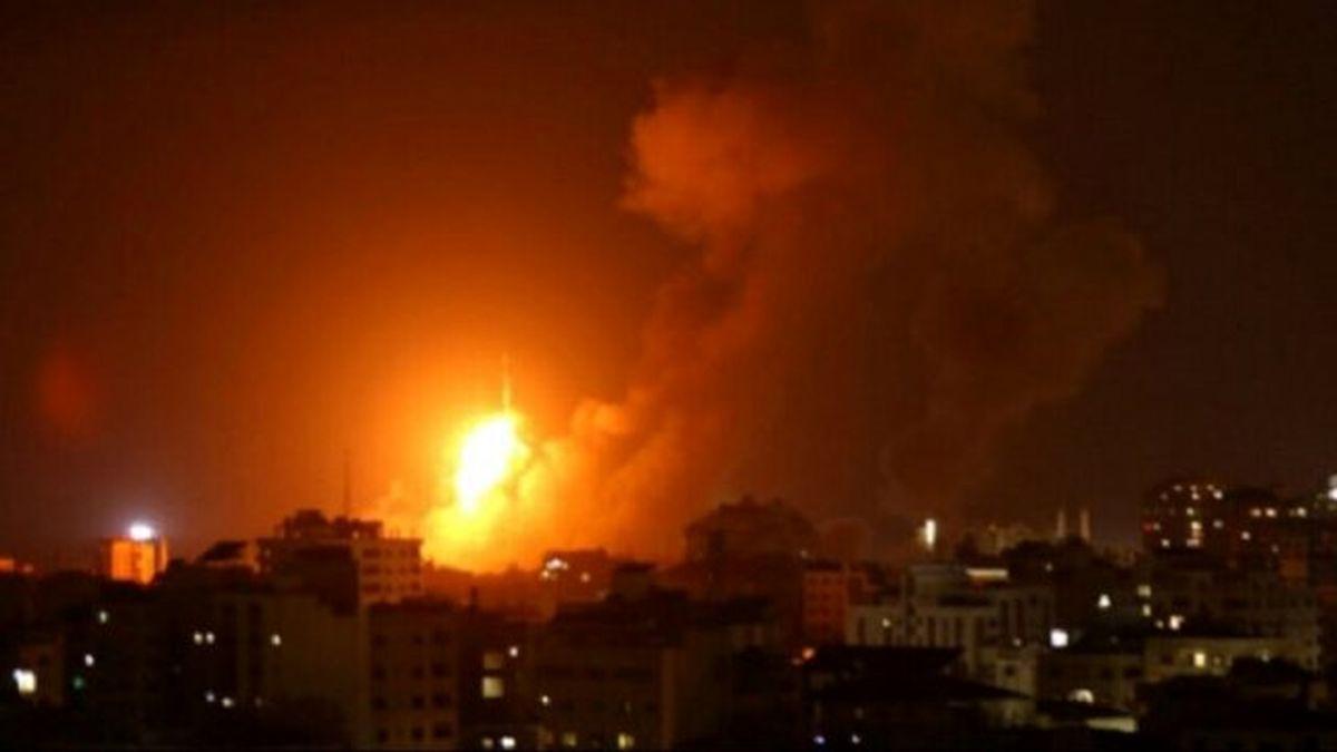 تجاوز رژیم صهیونیستی به نوار غزه