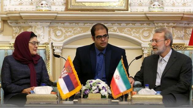 لاریجانی: راهحل مشترک سیاسی بهترین اقدام جهت جلوگیری از تنش سیاسی است
