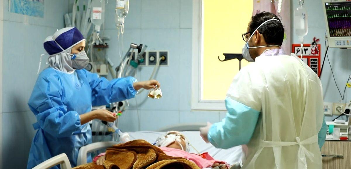 بستری شدن 48 بیمار جدید مبتلا به کرونا در منطقه کاشان / تعداد کل بستری ها  394 بیمار