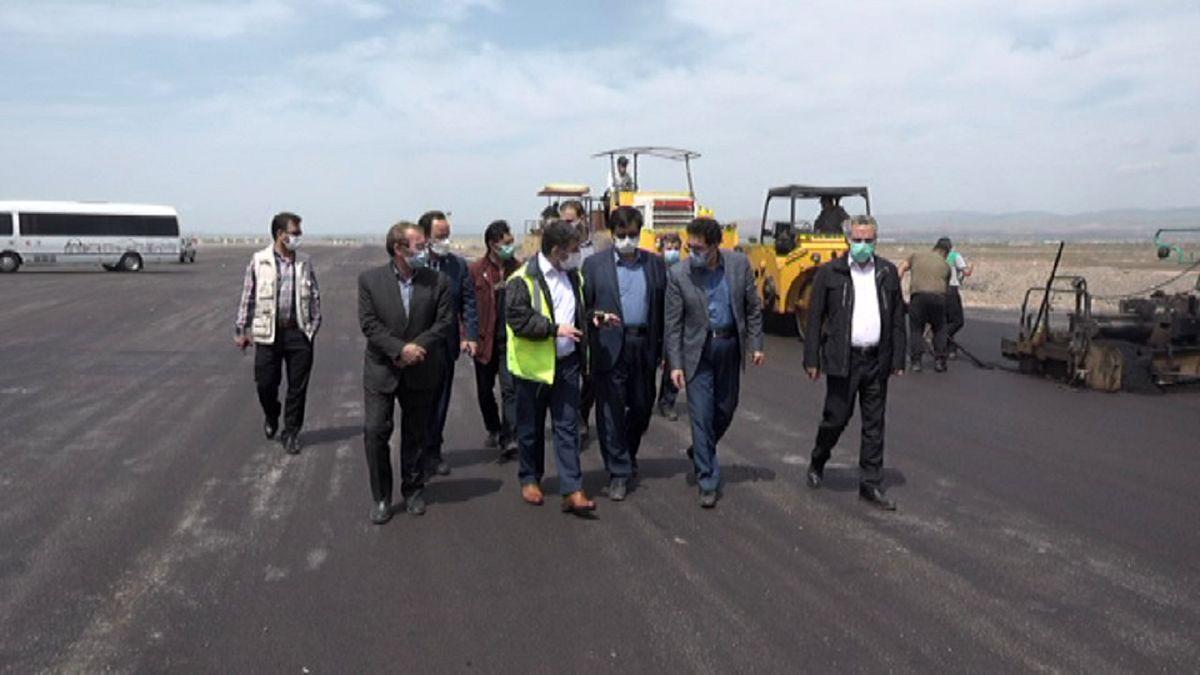 باند اصلی فرودگاه اردبیل تا پایان خرداد ماه به بهره برداری می رسد
