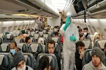 سازمان هواپیمایی از انتقال ایرانیان مقیم چین به کشور قدردانی کرد