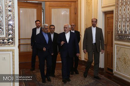 دیدار وزرای خارجه ایران و عراق