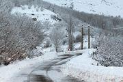 همه جاده های کوهستانی گیلان باز است/سفید پوش پوشیدن مناطق کوهستانی گیلان