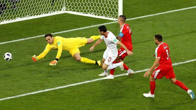 نتیجه بازی سوئیس و صربستان در جام جهانی/ شکست صربستان از سوئیس