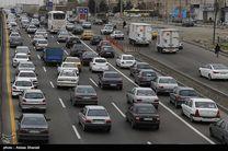 لغزندگی جادههای استان قزوین/ترافیک در بزرگراههای استان نیمهسنگین است