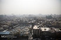 کیفیت هوای تهران در 21 اسفند 97 ناسالم است