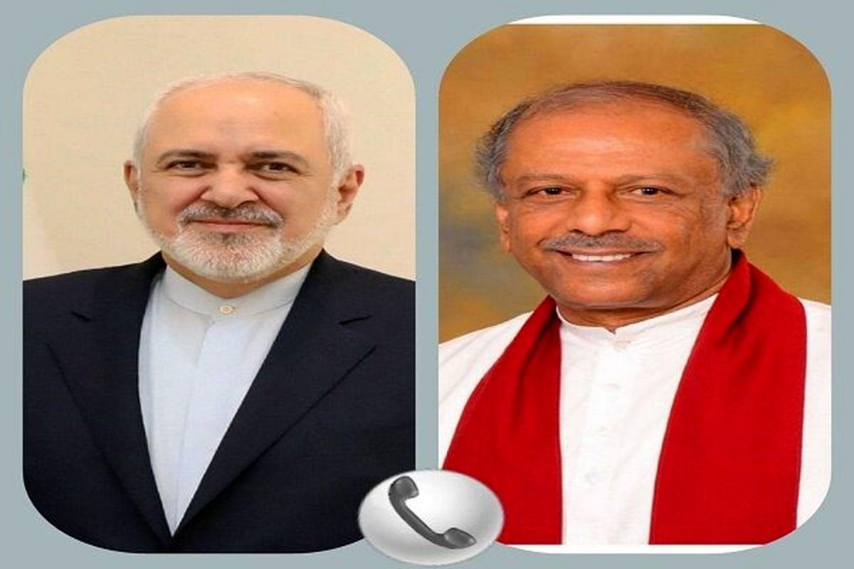 وزیر امور خارجه سریلانکا ترور شهید فخری زاده را محکوم کرد