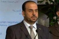 معارضان سوری: با پیشنهاد دیمیستورا درباره آینده سوریه موافقیم