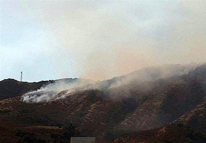 مهار شدن آتشسوزی در جنگلهای شهرستان کلاله