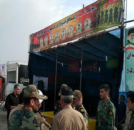 برپایی موکب های خدمت رسانی به زائرین اربعین در مرز چذابه