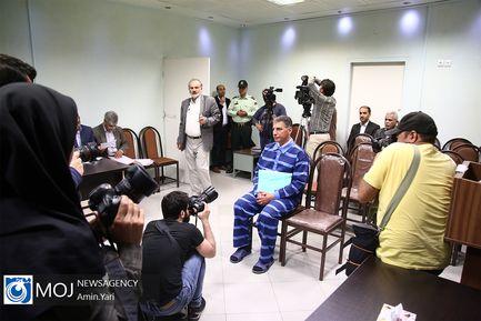 سومین جلسه رسیدگی به اتهامات علیرضا زیبا حالت منفرد