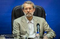 لاریجانی: هیأتی متشکل از قوه قضائیه و مجلس بر قرارداد توتال نظارت میکند