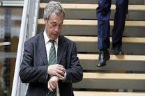 پس لرزه های سیاسی در انگلیس / مرد جنجالی کناره گیری کرد
