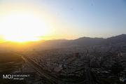 شهر تهران از فراز برج میلاد