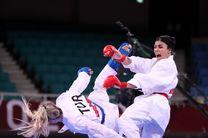 سارا بهمنیار در دومین مبارزه شکست خورد