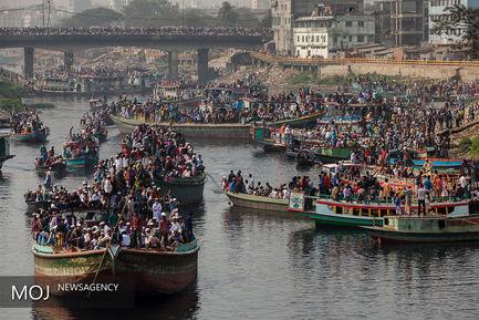 تجمع بزرگ مسلمانان در بنگلادش
