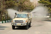 رونمایی از خودروهای جدید ضدعفونی کننده و رفع آلودگی نزاجا