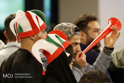 تماشای دیدار فوتبال ایران و چین
