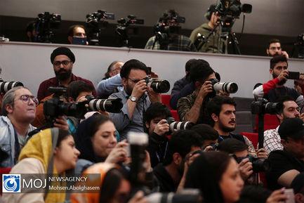 نشست خبری خارج از برنامه فیلم شین در سینمای رسانه