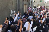 تظاهرات بحرینیها در اعتراض به ممانعت آل خلیفه از برگزاری نماز جمعه