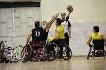 تیم بسکتبال با ویلچر ایران مقابل ترکیه شکست خورد