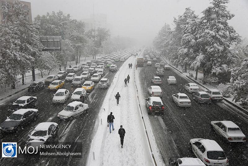 آخرین وضعیت جوی جاده های کشور در ۲۹ دی مشخص شد