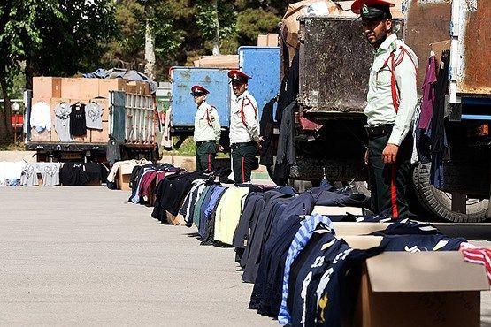 کشف 2 محموله پوشاک خارجی قاچاق در اصفهان / دستگیری 2 نفر توسط نیروی انتظامی
