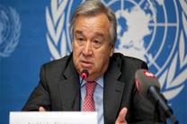 گوتیرش: سوریه از موضوعات دشوار سازمان ملل است